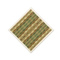 Abstract Vertical Striped Pattern Paper Napkin