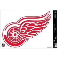 "NHL Detroit Red Wings 75401091 Multi Use Decal, 11"" x 17"""