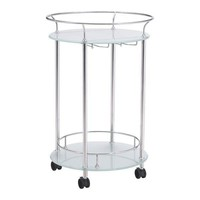 Plato Serving Cart Stainless Steel Stainless Steel
