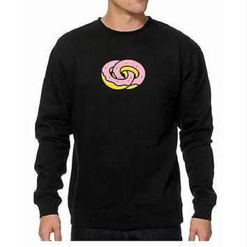 Odd Future OFWGKTA FOREVER Pullover Sweater Sweatshirt Black NWT 100% Authentic