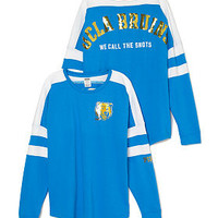 UCLA Pieced Varsity Crew - PINK - Victoria's Secret