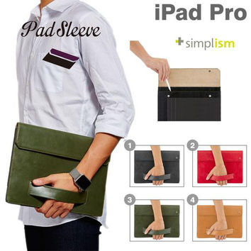 Simplism Sleeve Case with Clutch for iPad Pro