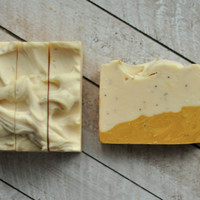 Vegan Soap - Poppy Seeds and Petitgrain #13