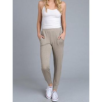Cool And Collected Joggers | Mocha