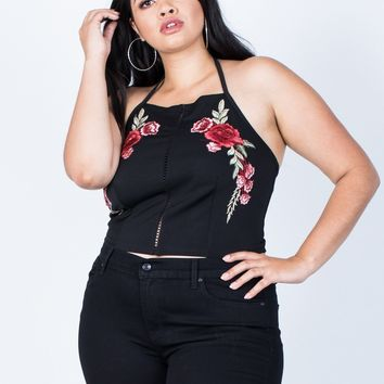Plus Size First Romance Rosey Tank