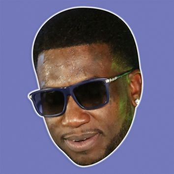 Cool Gucci Mane Mask - Perfect for Halloween, Costume Party Mask, Masquerades, Parties, Festivals, Concerts - Jumbo Size Waterproof Laminated Mask