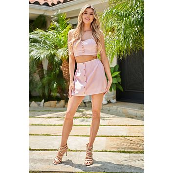 Candy Paint Two Piece Set (Pink)