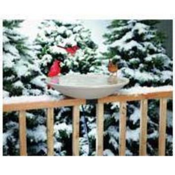 Allied Precision Inc    P - Heated Bird Bath With Ex-tilt Deck Mount