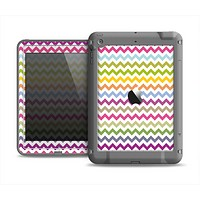 The Colorful Chevron Pattern Apple iPad Air LifeProof Fre Case Skin Set