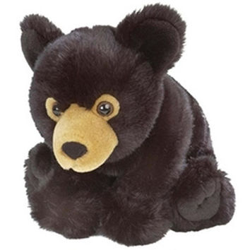 Cuddlekins Baby Black Bear 12 inch - K & M International - Bears - FAO Schwarz®
