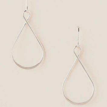 Leonie Loop Teardrop Earring