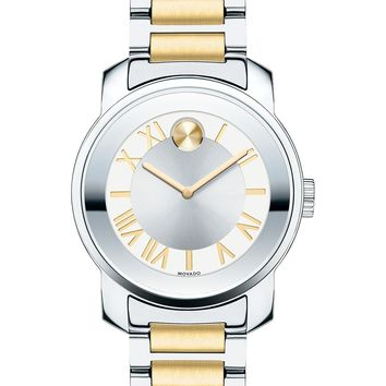 Movado Women's Bold Two-Tone Stainless Steel  Watch 3600245