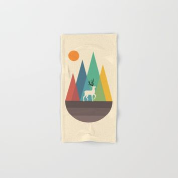 Step Of Autumn Hand & Bath Towel by Andy Westface