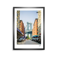 "Juan Paolo ""DUMBO"" Urban Photography Framed Art Print"