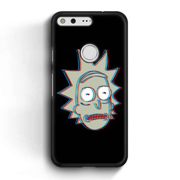 Rick And Morty - 3d Rick Google Pixel Case