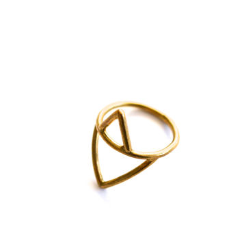 Alexa Ring Brass