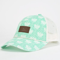 O'neill Uptown Womens Trucker Hat Mint One Size For Women 24803752301