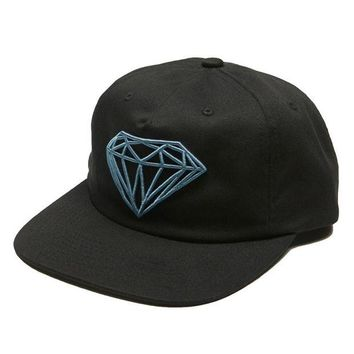 ONETOW Diamond Supply Co. - Brilliant Unconstructed Snapback - Black
