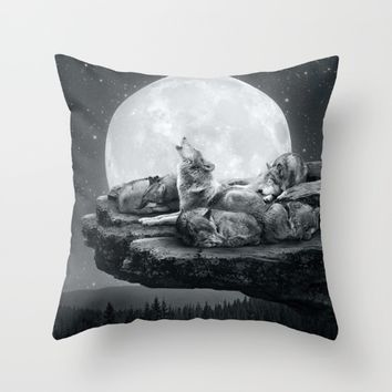 Echoes of a Lullaby Throw Pillow by Soaring Anchor Designs | Society6