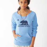 california republic ladies sweatshirt