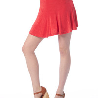 Hot Stuff China Red Skater Skirt / All Sizes / Free Ship USA