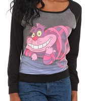 Disney Alice In Wonderland Cheshire Cat Pullover Top - 189566