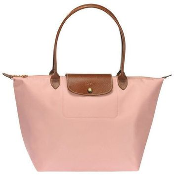 ONETOW Longchamp Le Pliage Large Tote Bags 1899 089 A26 Pink