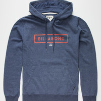 Billabong Branded Mens Hoodie Heather Navy  In Sizes