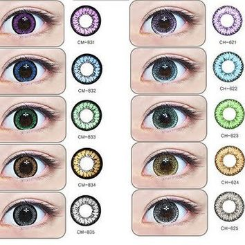 GEO Magic Color Angel & Nudy Series Circle Lenses Colored Contacts Cosmetic Color Circle Lens