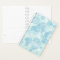 Blue Bubbles Planner
