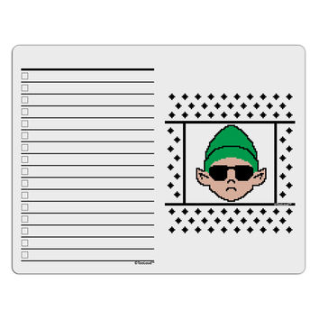 Cool Elf Christmas Sweater To Do Shopping List Dry Erase Board