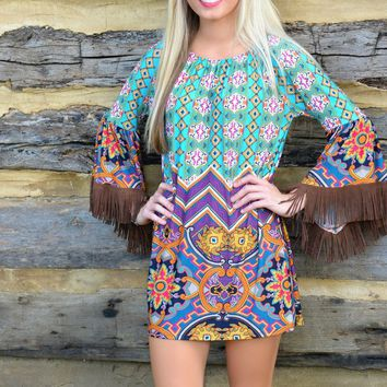 Bohemian Tassel Beachwear Dress