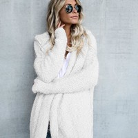 Pure Cardigan with Hood