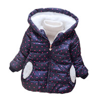 Boys Winter Coat Baby Girls Jacket Kids Warm Outerwear Children Coat fashion Spring Children Clothing Boys Hooded jacket