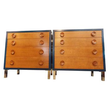 Pre-owned Blue Vintage Dressers - A Pair