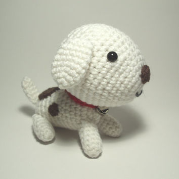 Crocheted Puppy Stuffed Animal Toy