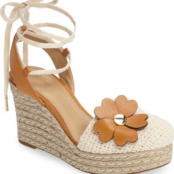 MICHAEL Michael Kors Kit Crochet Platform Wedge (Women) | Nordstrom