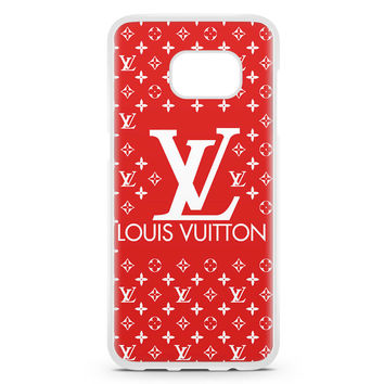 Louis Vuitton Logo Rey Samsung Galaxy S7 Edge Case