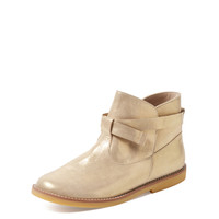 Petits Marcheurs Ankle Boot - Gold -