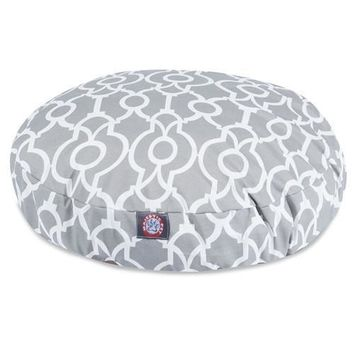 Athens Round Dog Bed by Majestic Pet Products