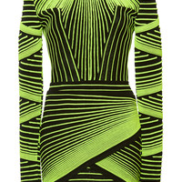 Optical Illusion Mini Dress | Moda Operandi