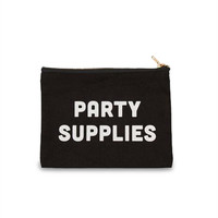 Party Supplies Zip Pouch
