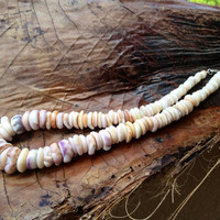 Hand Collected Hawaiian Puka Shell Necklace by FlatteryDesigns