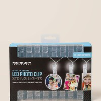 Photo Clip Clear String Lights