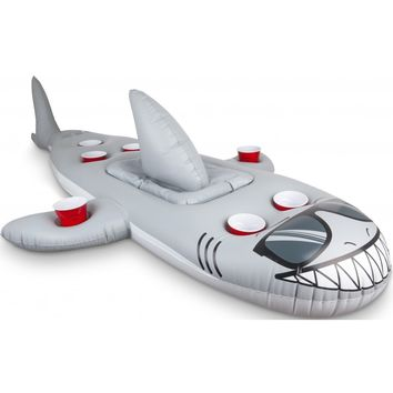Inflatable Shark Beverage Cooler - Holds 7 Drinks! - PRE-ORDER, SHIPS LATE MARCH