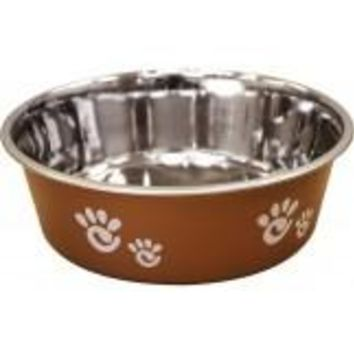Barcelona Dog Bowl Pearlized Copper