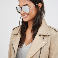 AJ Morgan Aviator Sunglasses in Silver