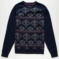 Retrofit Todd Mens Sweater Navy  In Sizes