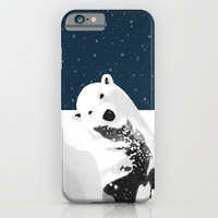 Unique Polar Bear Scene iPhone & iPod Case by oursunnycdays