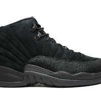 Air Jordan 12 Retro OVO Black Basketball Shoes
